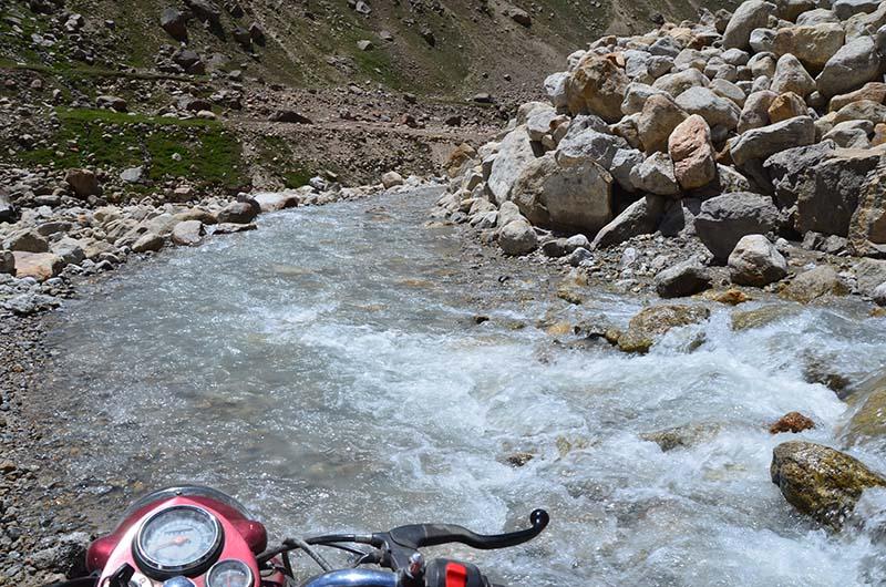 motorcycle water crossings