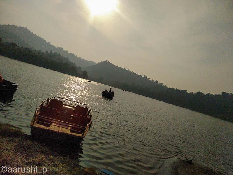 boating in tikkar taal
