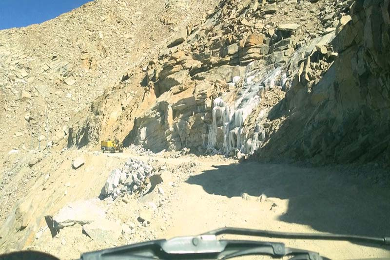 pictures from a journey from Leh to Hunder
