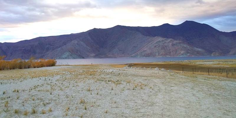 Merak village on the route from Pangong to Hanle
