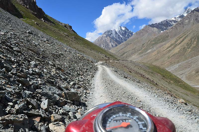 bike ride to spiti valley