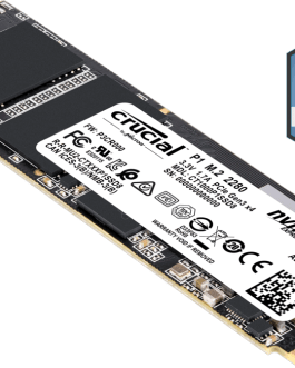HDSSD Crucial P1 1To NAND M2 NVME PCIe Type 2280