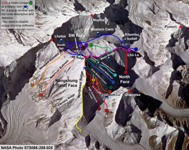 еверест-маршрути