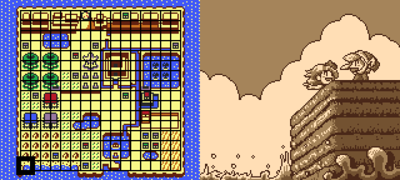 Romantic video game scenes - Link's Awakening