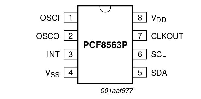I2C RTC PCF8563: basic usage with Arduino (2/4)