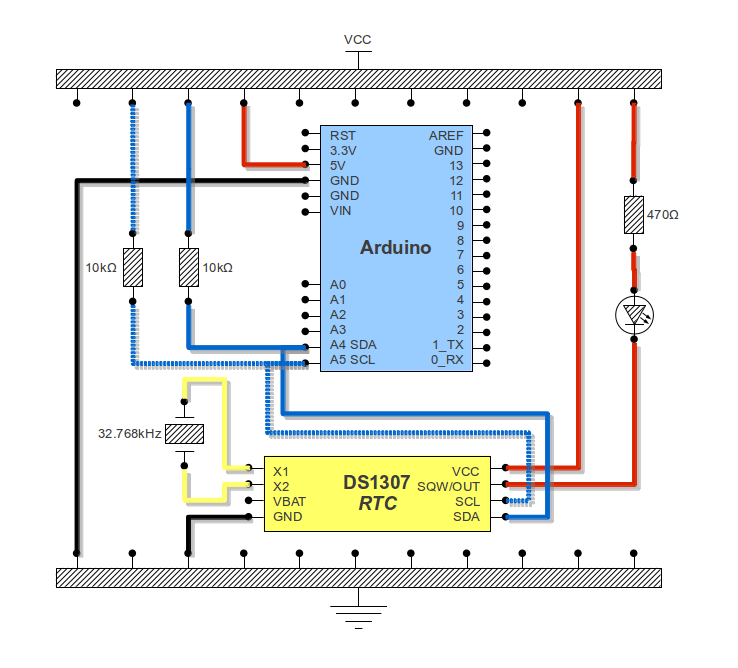 I2C RTC DS1307 and Arduino (3/3)