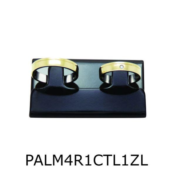 Par de Aliança de Moeda Antiga Reta 4MM com Revestimento em Prata com 1 Risco em Curva e 1 Zircônia Lateral- PALM4R1RC1ZL