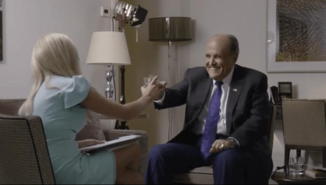 Rudy Giuliani in 'Borat 2' Faces Controversy - Variety