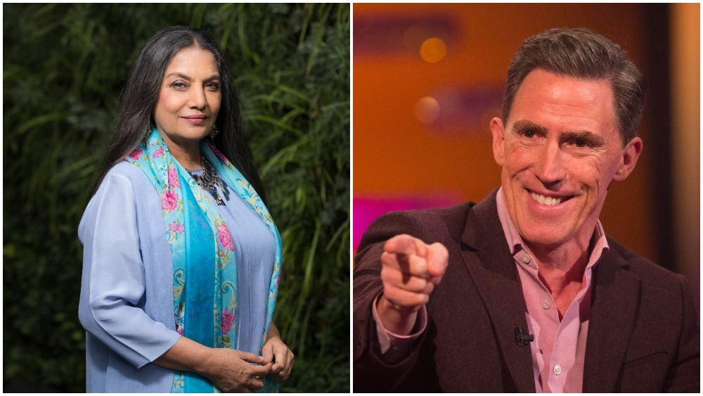 Rob Brydon, Shabana Azmi Board Lily James and Emma Thompson Comedy 'What's Love Got To Do With It?'