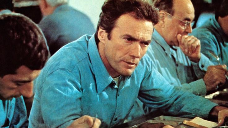 Clint Eastwood Escape From Alcatraz