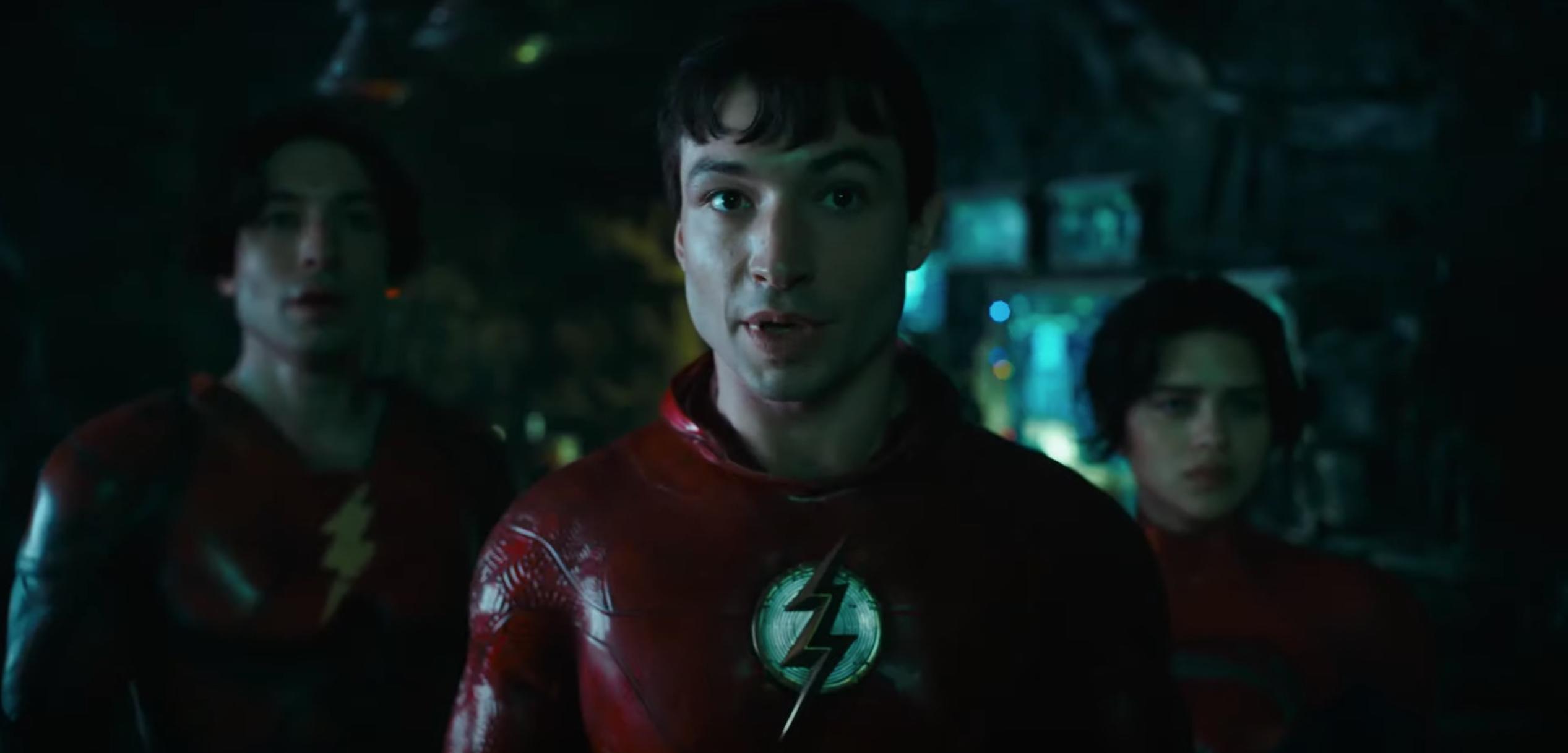 'The Flash' Movie Teaser: Multiple Ezra Millers Meet Michael Keaton's Batman