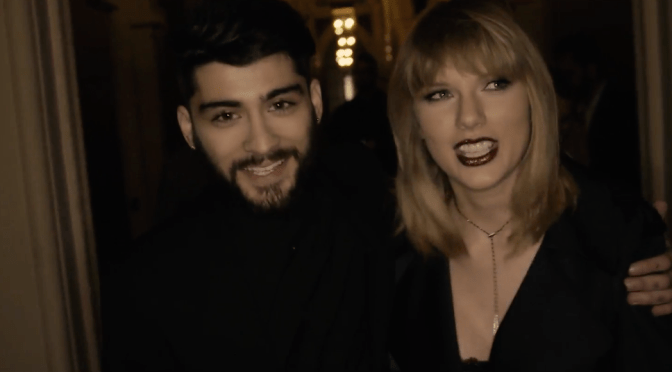 """Go Behind The Scenes of Zayn + Taylor Swift's Video """"I Don't Wanna Live Forever"""" + GIFs"""