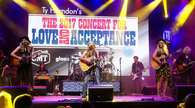 Photo Gallery: Runaway June at Ty Herndon's Concert for Love and Acceptance