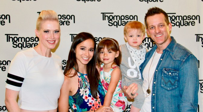 Thompson Square Celebrates 'Masterpiece' Album Release With Fans at CMA Fest!