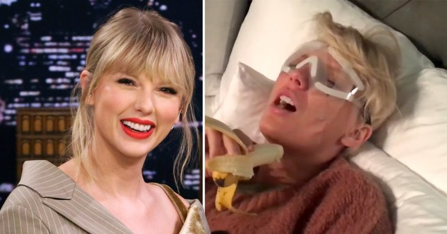Taylor Swift's Mom Sends Jimmy Fallon Hilarious Video of the Singer Post Surgery