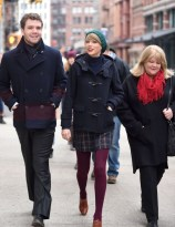 "51612680 ""Shake It Off"" singer Taylor Swift goes to lunch with her brother Austin and parents Andrea and Scott in Tribeca on December 22, 2014 in New York City, New York. Taylor and her family are getting ready to celebrate Christmas in the Big Apple this year... FameFlynet, Inc - Beverly Hills, CA, USA - +1 (818) 307-4813"