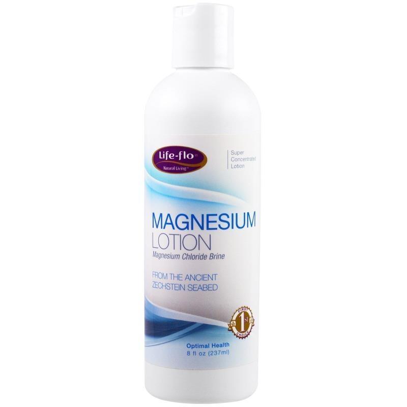 Life-flo Magnesium Lotion 8 fl oz (237 ml) - Variety Box