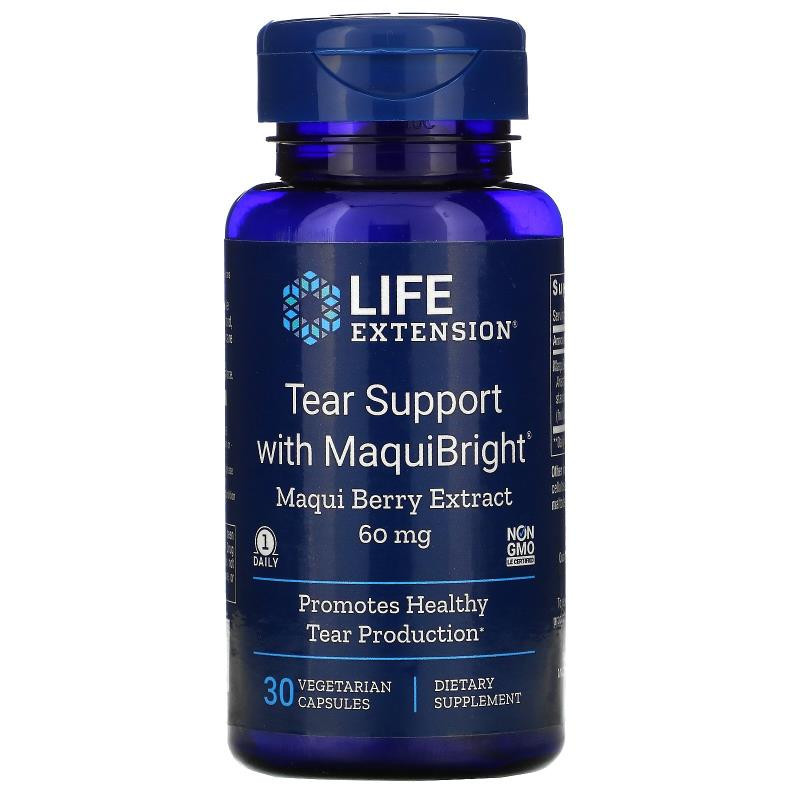 Life Extension Tear Support with MaquiBright Maqui Berry ...