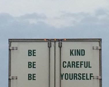 girl valley be kind be careful be yourself album art