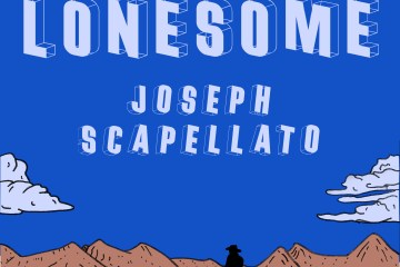 big lonesome joseph scapellato book cover cowboy desert