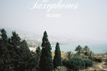saxophones aloha artwork