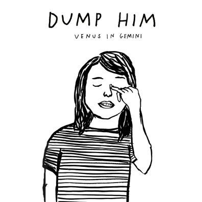 dump him venus in gemini album art