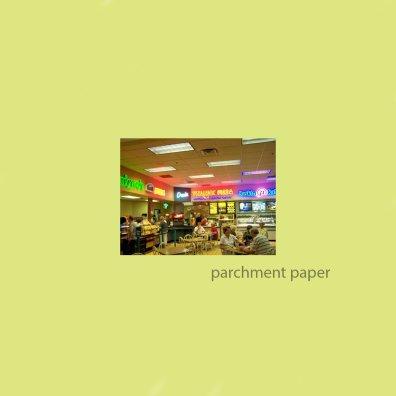 Museum Food Court parchment paper album cover