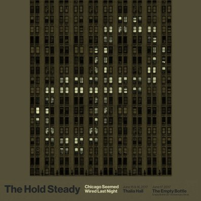 The Hold Steady Live in Chicago art