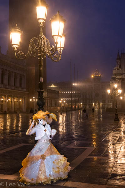 Under the Lights at St. Marks Square