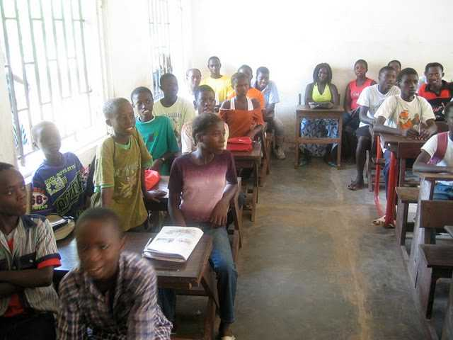 Support schooling in Guinea Bissau