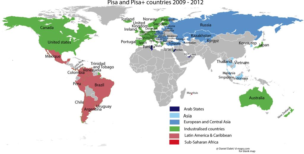 pisa countries