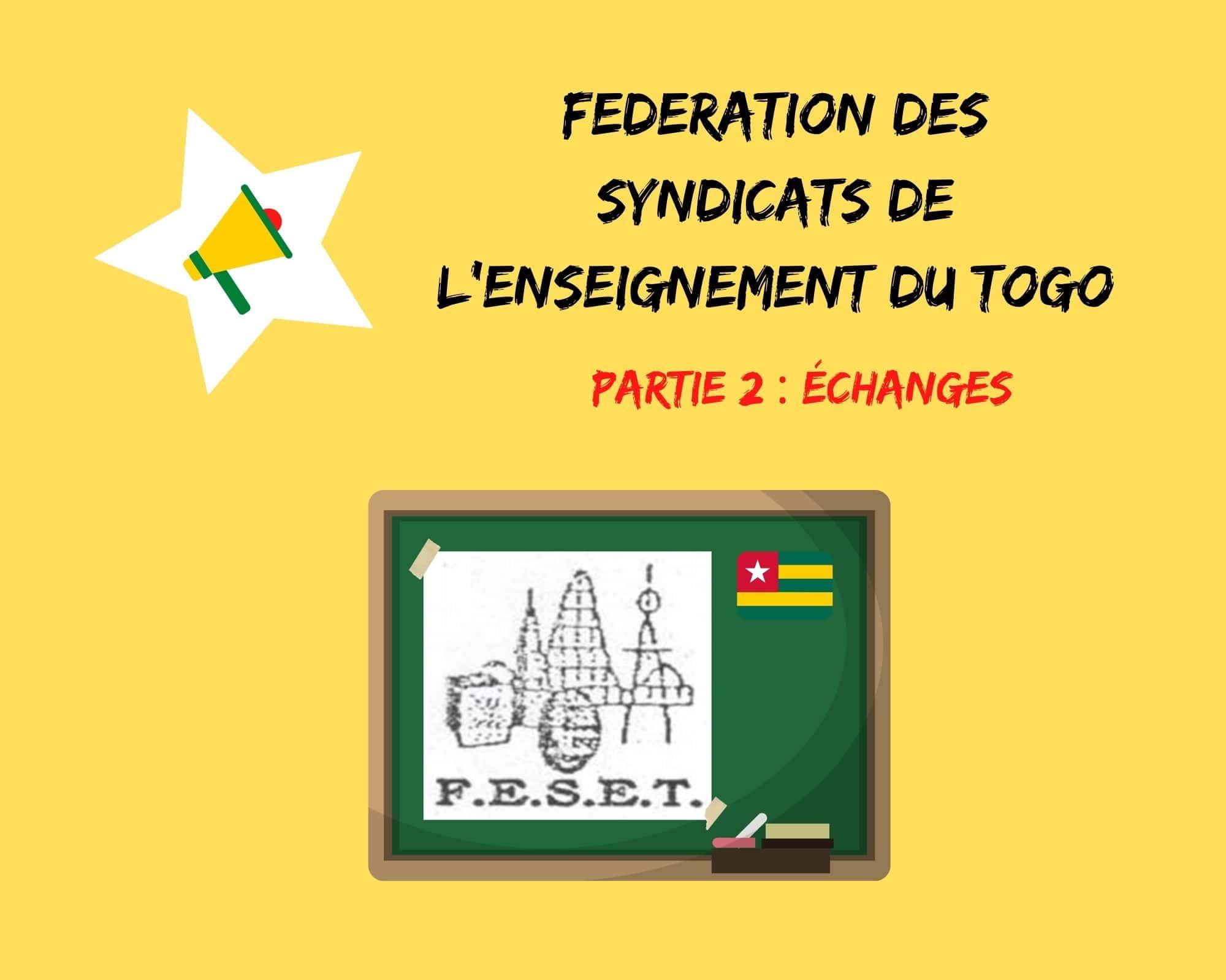La parole aux syndicats : échanges avec la Fédération des Syndicats de l'Enseignement du Togo