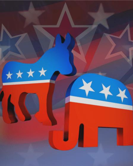 Demokrat Republik USA Amerika Serikat