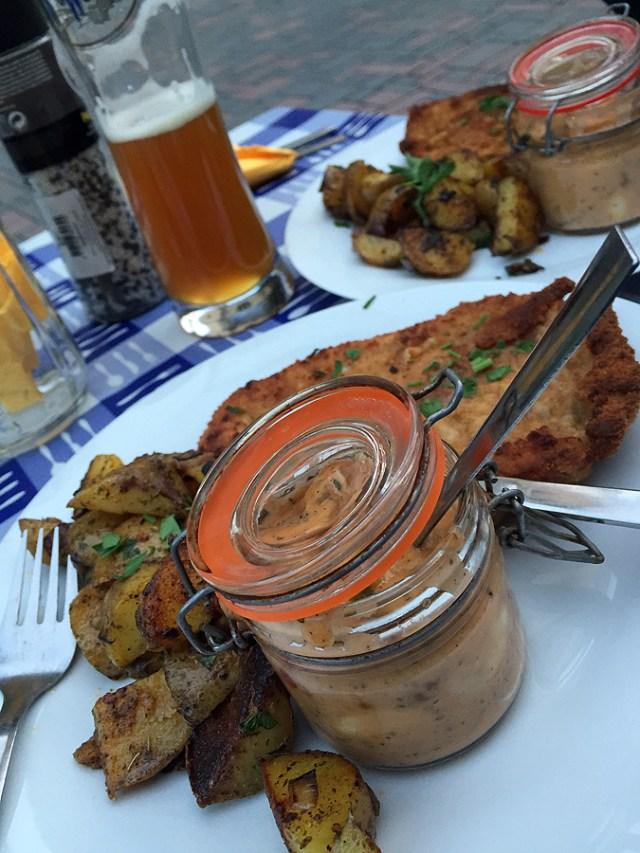 En god tysk schnitzel.