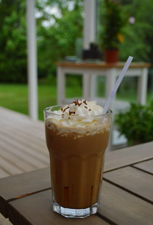 Iskaffe er perfekt til de varme sommerdage.