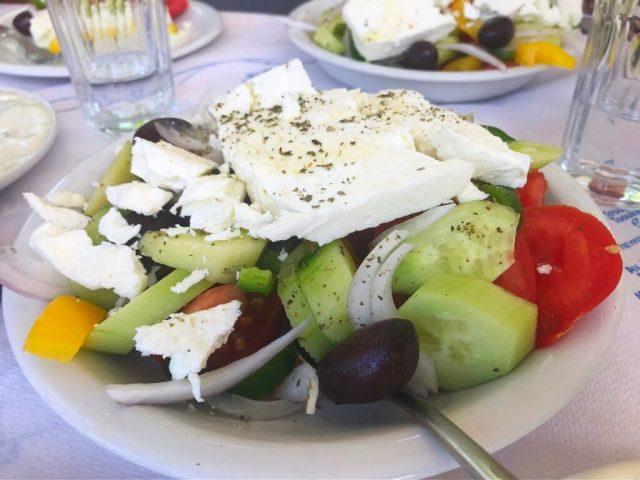 Græsk salat lefkas