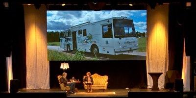 Bokbussen i Torsby