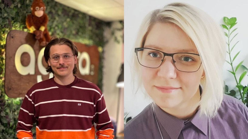 Albin Ahlstedt Grafman och Rosanna Johansson