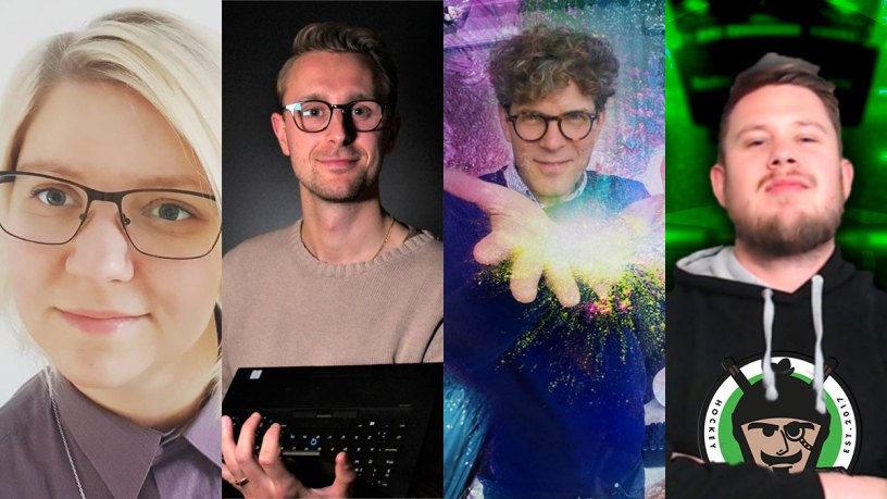 Rosanna Johansson, Albin Tyllgren, Patrick Standfast, Linus Forsberg