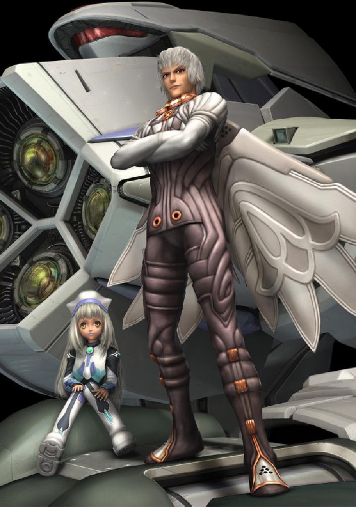douchebag video game villains meet albedo from xenosaga