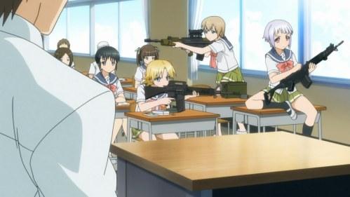 Japan may love guns even MORE than Americans do.