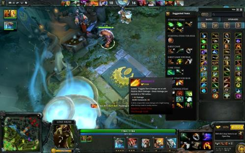 For me this is DotA, confusion
