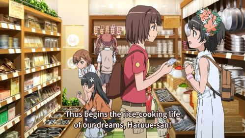 This is the moment where I realized how lame I am when I discovered Uiharu and I share the same dream.