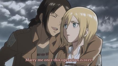Yes Otakon, love does bloom on the battlefield.