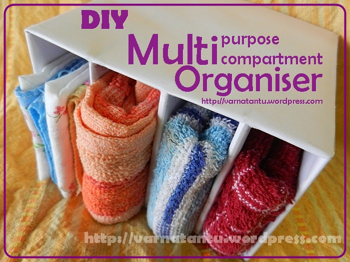 DIY Multi-compartment Organiser for Underclothes/Innerwears & Hankies (1/6)