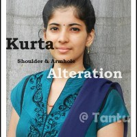 Kurta Shoulder & Armhole Alteration Tutorial