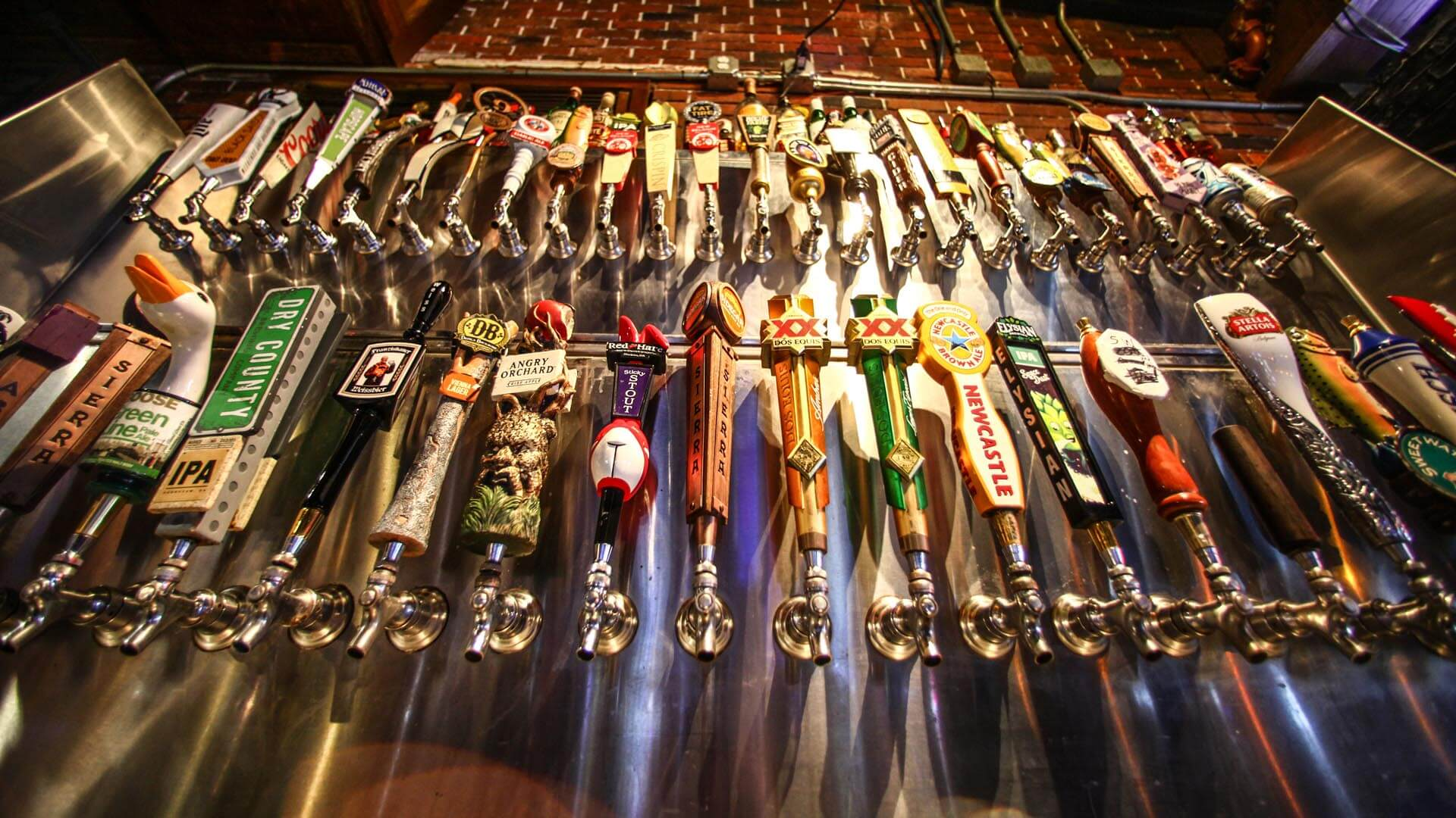 Huge Draft Beer Selection