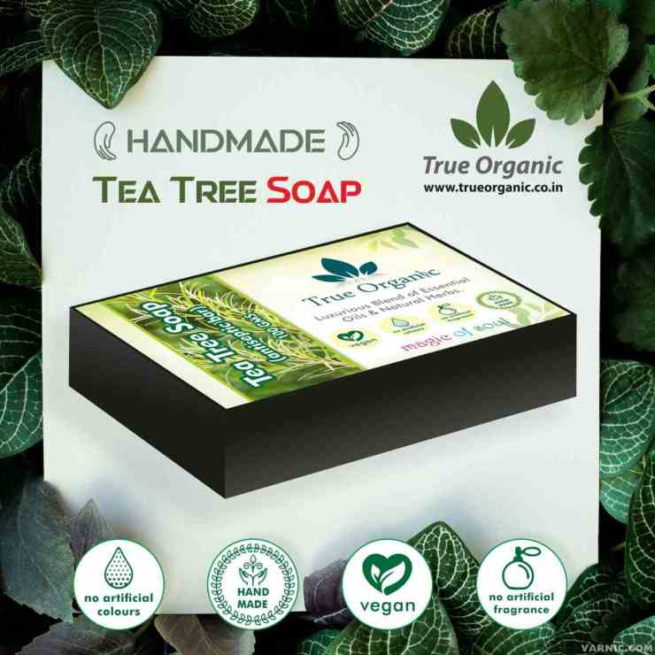 True Organic Tea Tree Soap