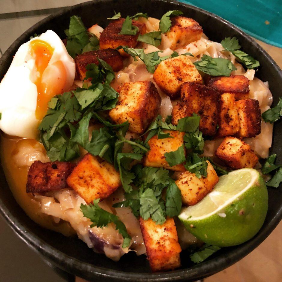 Burmese Coconut Curry Noodles