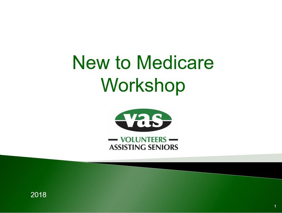 Monthly Medicare Workshop – Thursday Evening